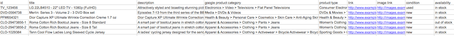 Be sure to keep your product title names relevant without keyword-stuffing.