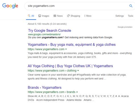 Yoga Matters - screen shot
