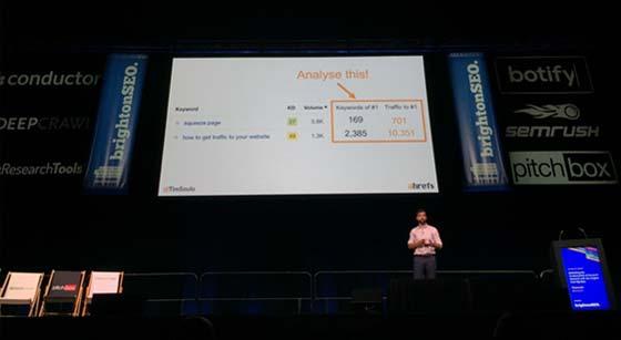 Photo of presentation
