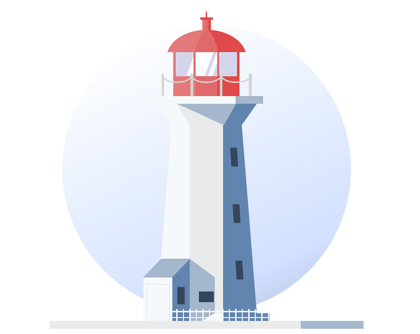 Example of CSS Lighthouse