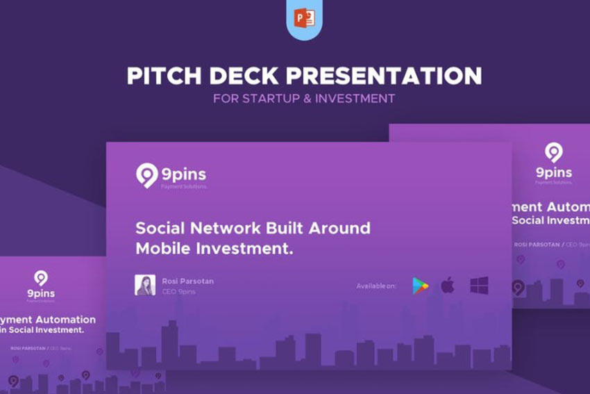 Example of Fintech Startup Pitch Deck Presentation