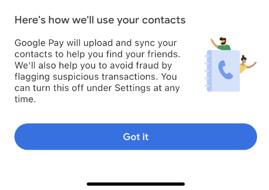 How Google uses your contacts