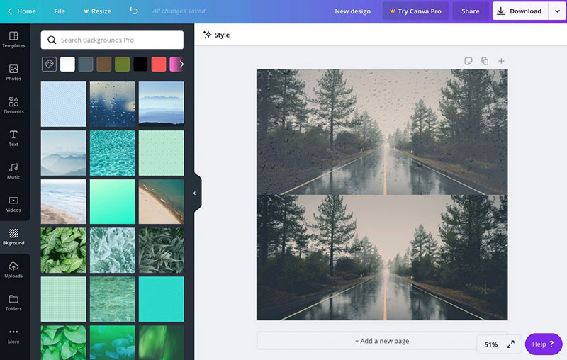easy-use-canva Canva vs Crello. The one you should pick from the two