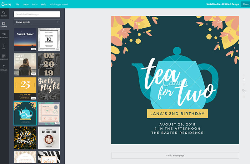 ease-of-use-canva-1 Canva vs InDesign. The one you should pick for work