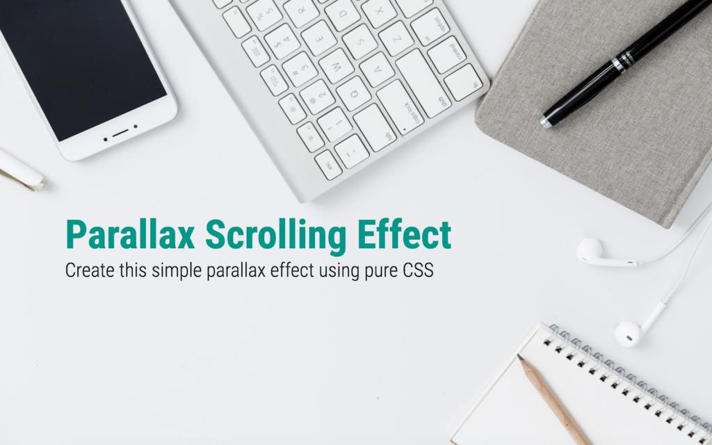 Pure CSS Parallax - So far