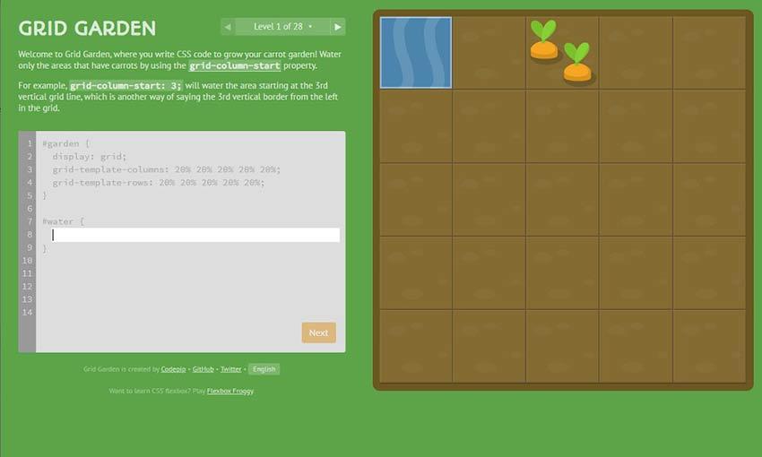 Example of Grid Garden
