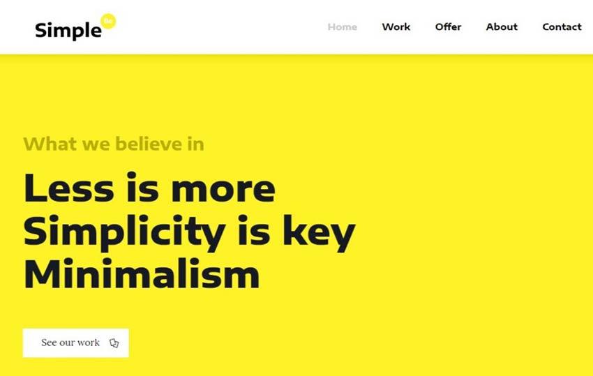 BeSimple WordPress Theme