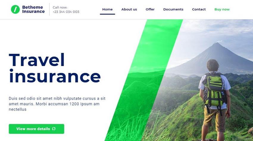 BeInsurance WordPress Theme