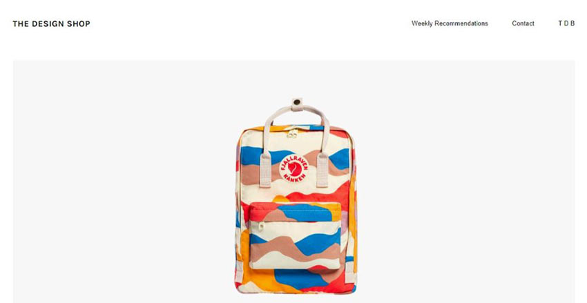 The Design Shop WordPress Theme