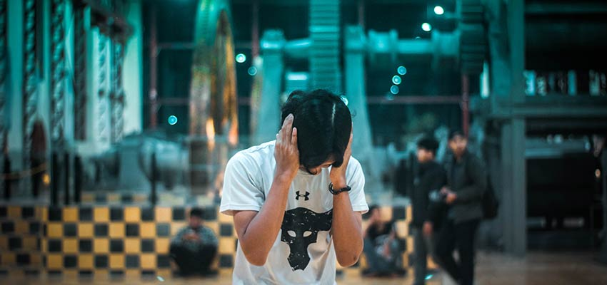 A person covering their ears - WordPress development