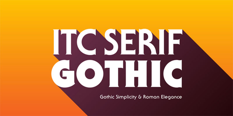 ITC-Serif-Gothic The Roblox font: What font does Roblox use?