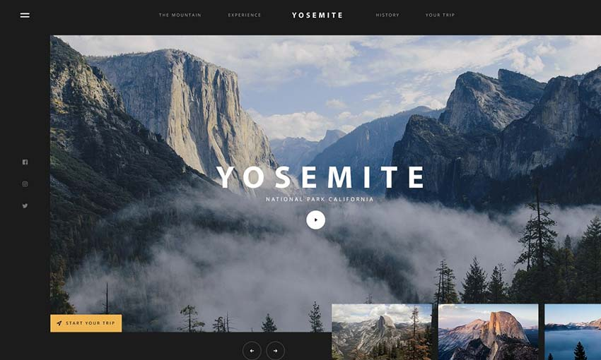 Example of Yosemite