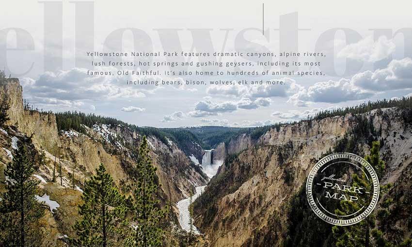 Example of Yellowstone