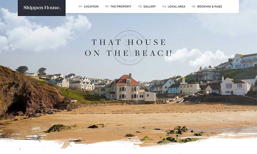 Example of Coastal Holiday Home