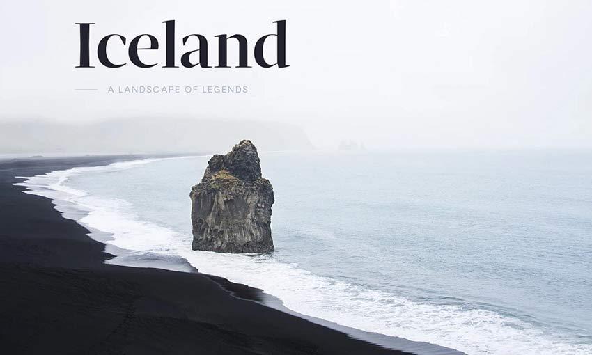 Example of Wandr: Iceland