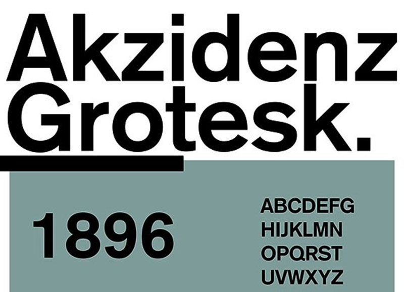 Akzidenz-Grotesk What font does Disney use? Check out the Disney fonts