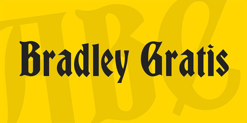 Bradley-Gratis-Font What font does Disney use? Check out the Disney fonts