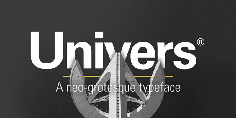 Univers What font does Facebook use in its app and website?
