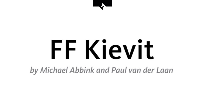 Kievit What font does Medium use on its website?