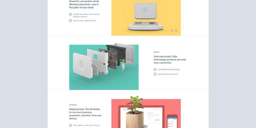 Shopify Motion Design in Web Design