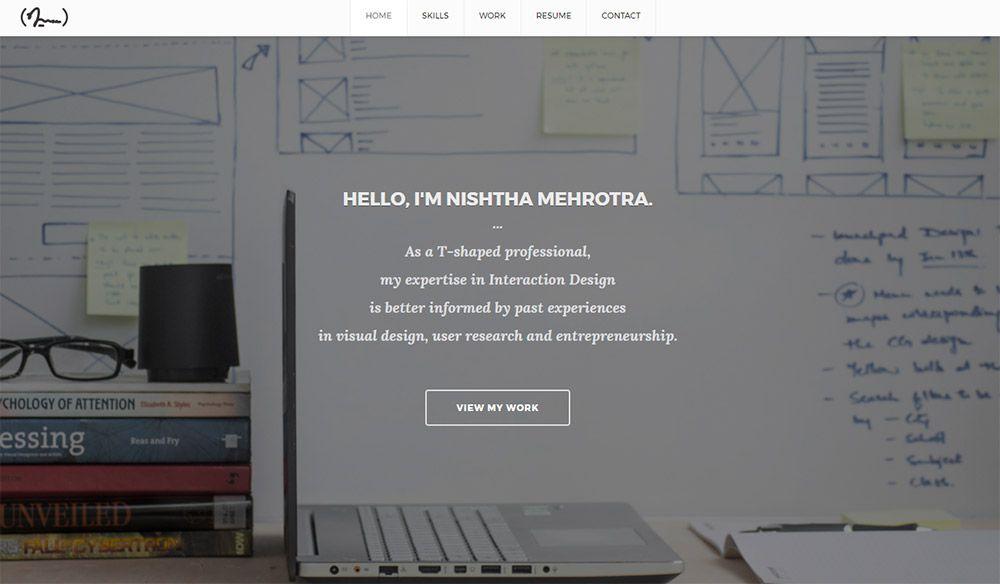nishtha mehrotra designer portfolio