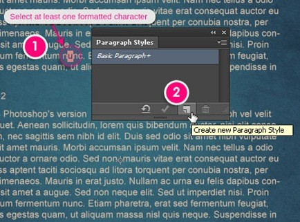 Type Styles in Photoshop