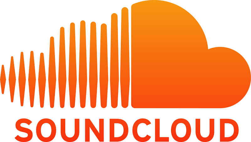 The SoundCloud guideline contains CMYK AI vector files for print purposes
