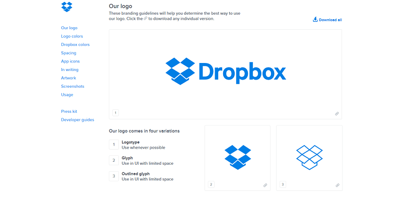 Dropbox enables you to access any folder in your hard drive
