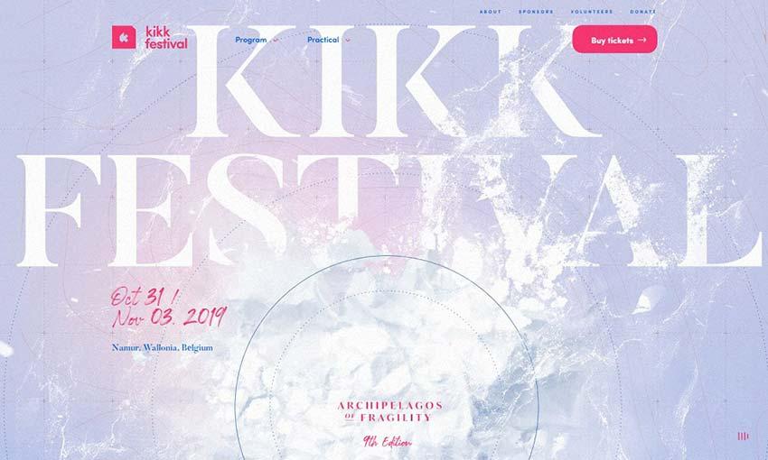 Example of KIKK Festival 2019