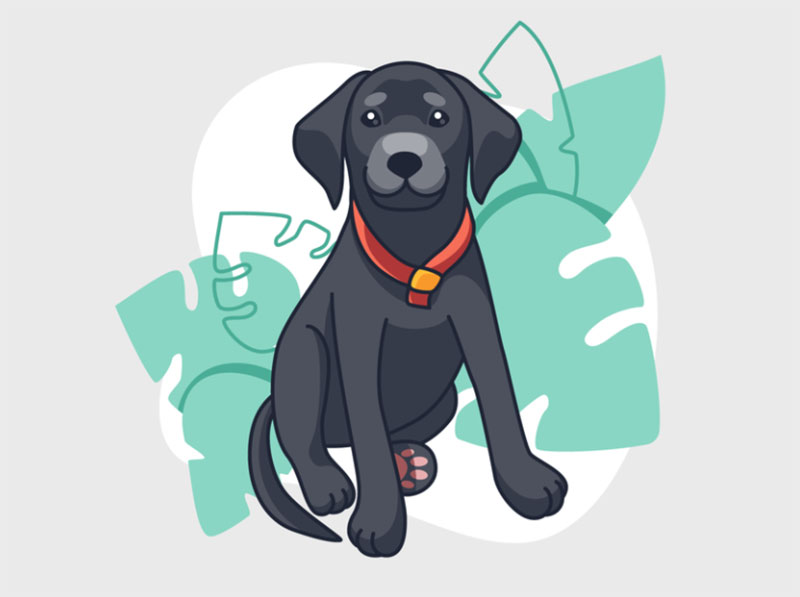Dog-Illustration Awesome dog illustration images to inspire you