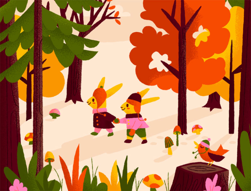 I_m-ready-for-autumn Beautiful autumn illustration examples for the season