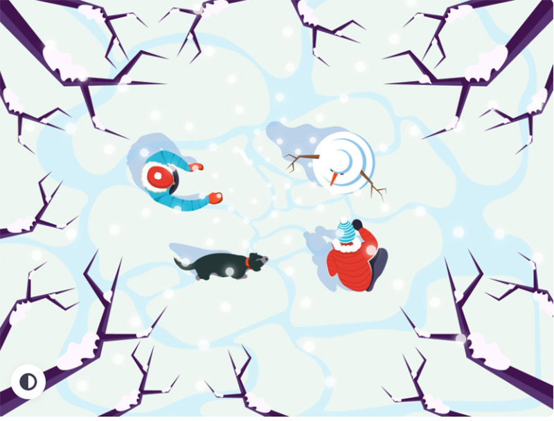 Winter-is-Coming Beautifully designed winter illustration examples for you