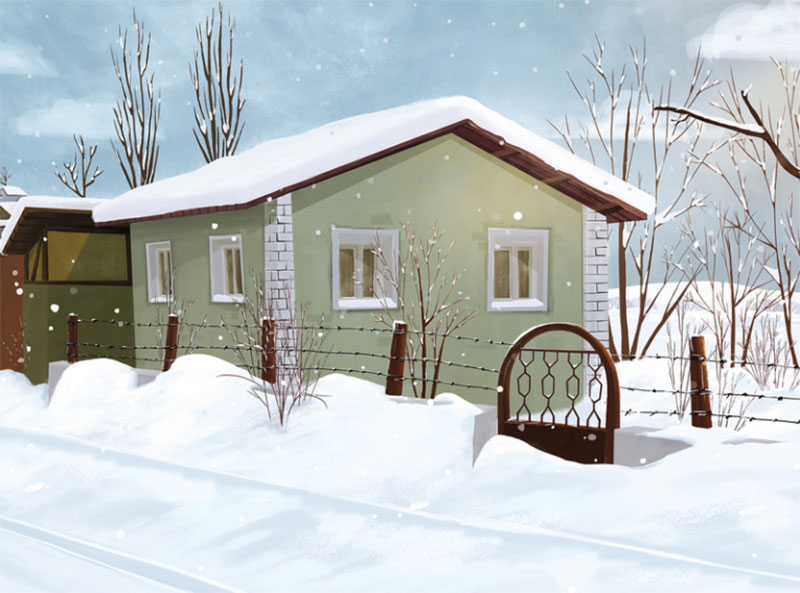 Winter-is-coming-2 Beautifully designed winter illustration examples for you