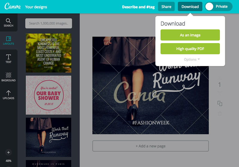 download Canva vs Adobe Spark. Which one should you use?