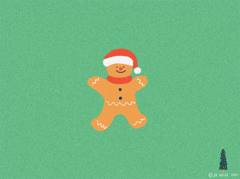 Ready-for-lockdown-Christmas Christmas illustration examples that look amazing