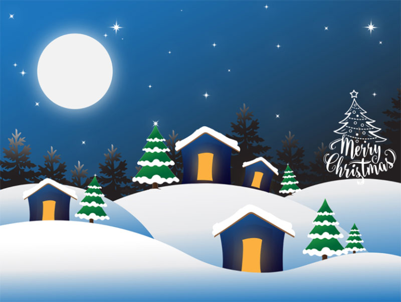Winter-Christmas-Graphic-Template Christmas illustration examples that look amazing
