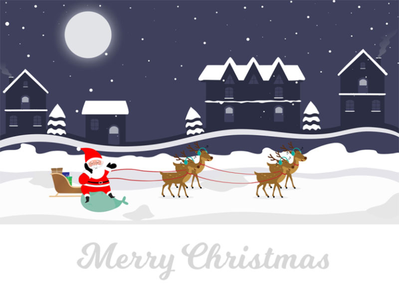Christmas-Graphics Christmas illustration examples that look amazing