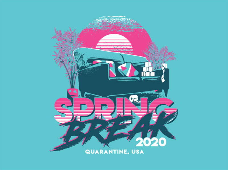 Spring-Break-2020 Dreamy spring illustration examples you must see