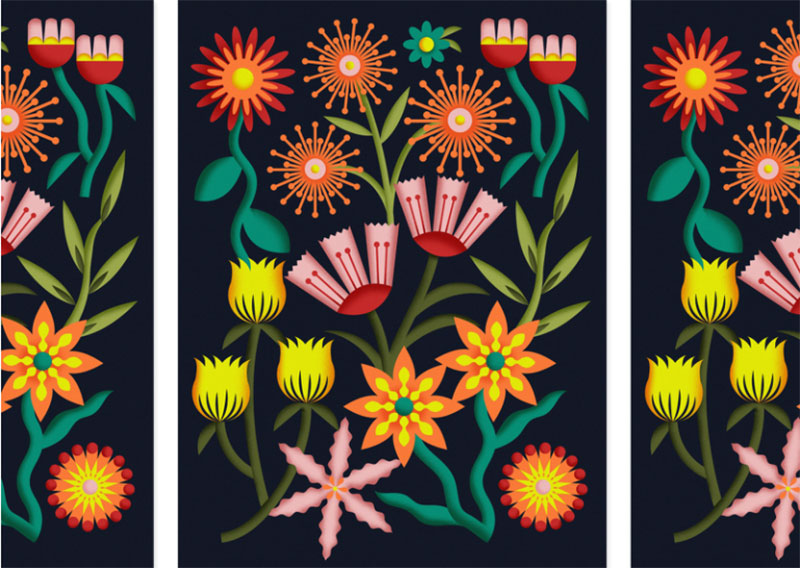 Spring-Gathering Dreamy spring illustration examples you must see
