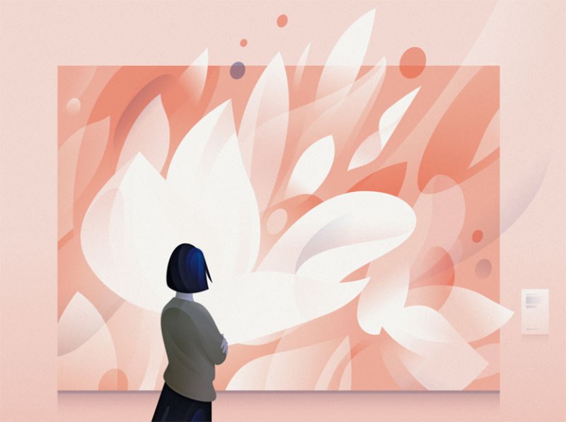 lost-spring-1 Dreamy spring illustration examples you must see