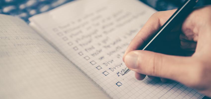 Hire A Web Designer - List Goals