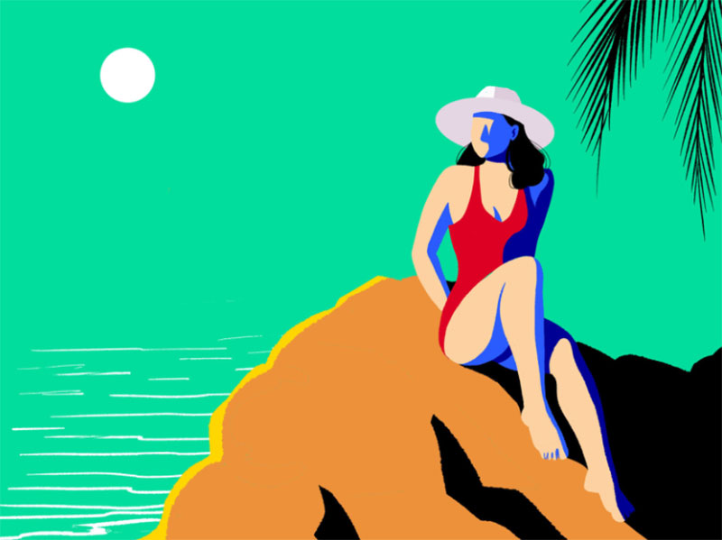 Summer-VIbes-2 Lovely summer illustration examples to check out