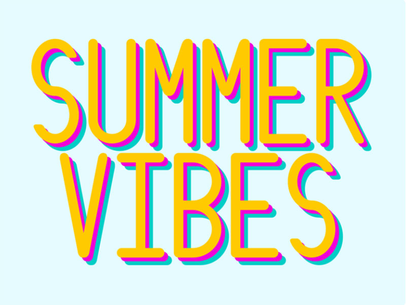 summer-vibes3 Lovely summer illustration examples to check out