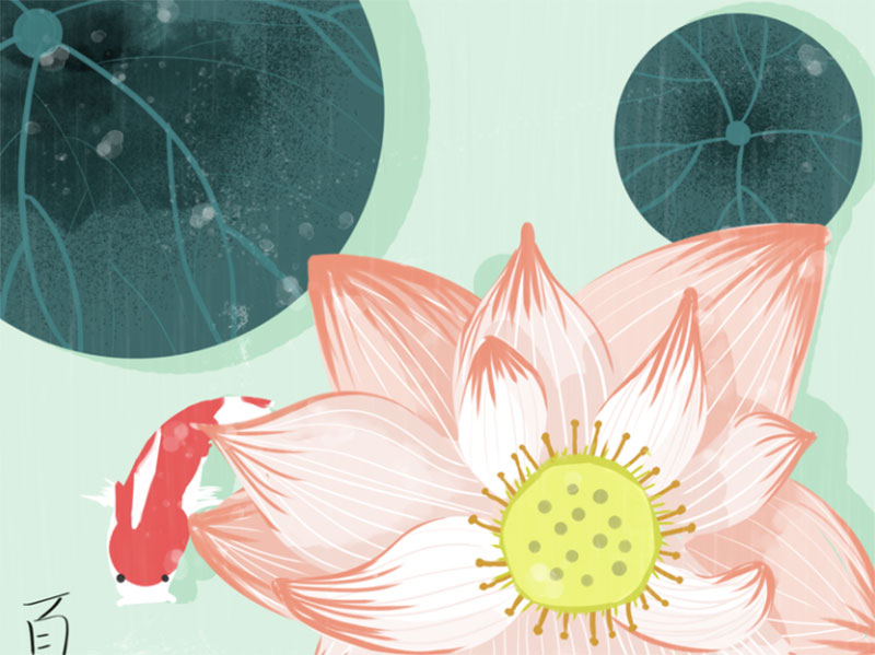 SUMMER-will-coming Lovely summer illustration examples to check out