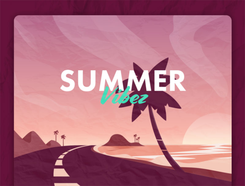 summer-vibez Lovely summer illustration examples to check out