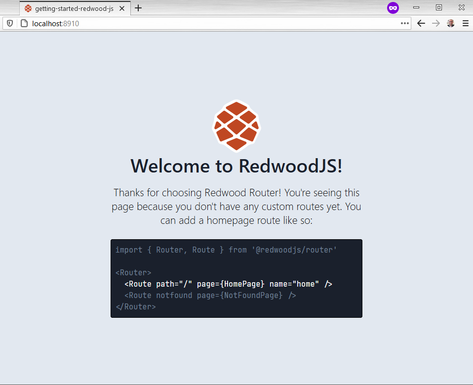 Redwood first page