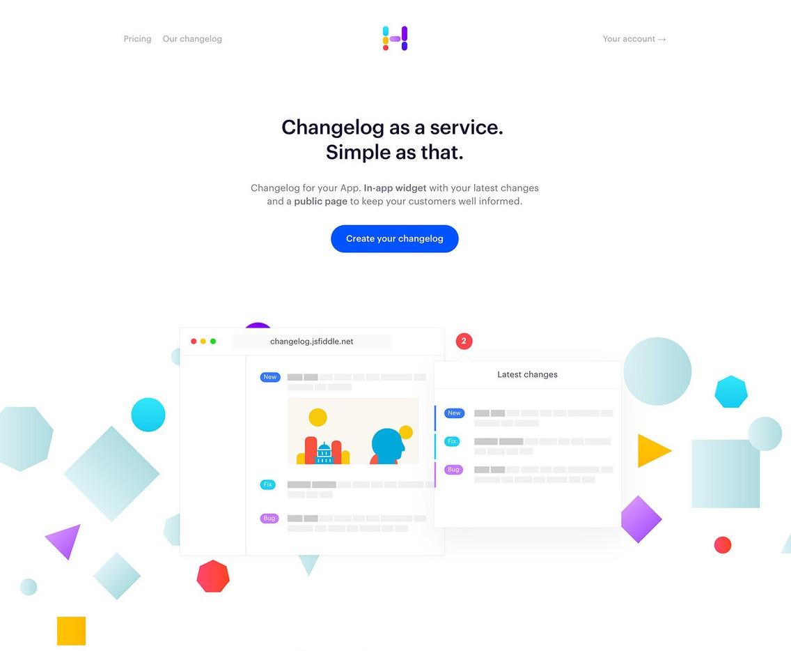 hero design web example landing page Headway