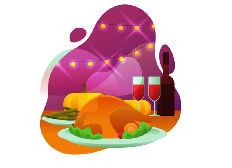 Thanksgiving-Turkey-Illustration Thanksgiving illustration examples that are great