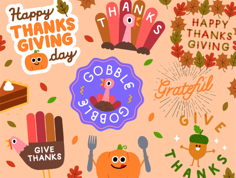 Thanksgiving-Collection Thanksgiving illustration examples that are great