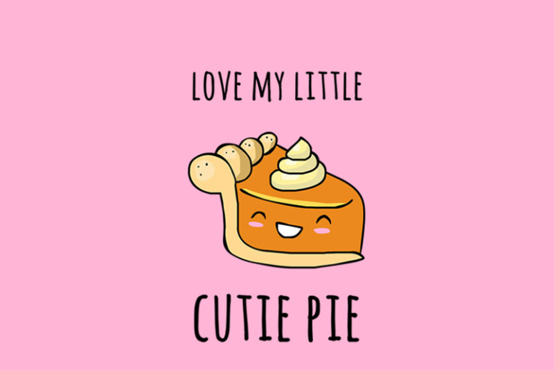 Cutie-Pie Thanksgiving illustration examples that are great